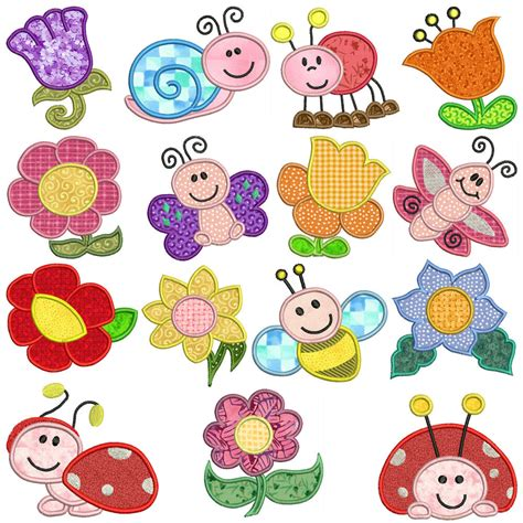 embroidery applique design garden machine applique embroidery patterns 15