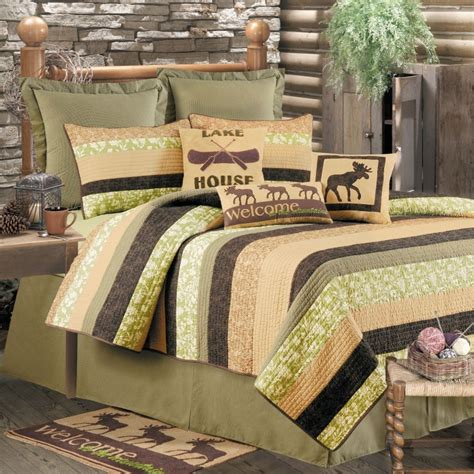 Rustic Quilts Clearance by Cabin Nights Quilt Set