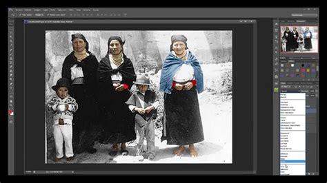 imagen blanco y negro en photoshop colorear fotos antiguas en blanco y negro photoshop cs6