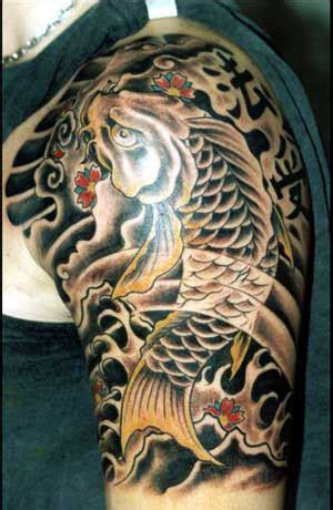 tattoo pez koi brazo koi tattoo 50 fotos taringa