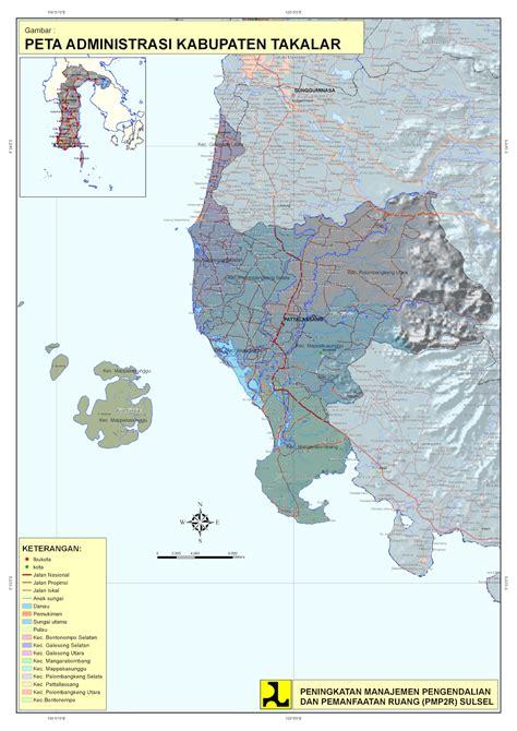 Ac Panasonic Wilayah Makassar teknik perencanaan wilayah dan kota peta administrasi