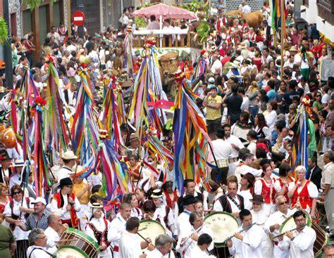 la fiesta de la fiestas de la orotava fiestas turiscom cit turismo y viajes