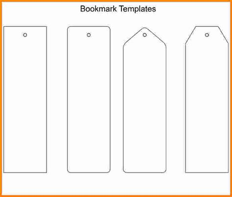 printable bookmark template 8 bookmark template cashier resume