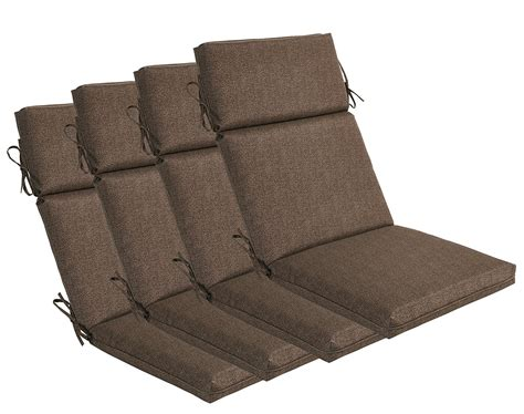 Patio Furniture High Back Chair Cushions   High Back Patio