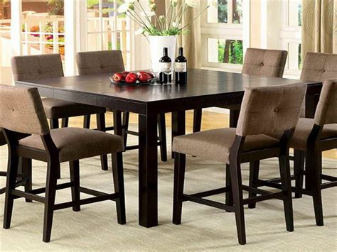 high dining room table sets top 26 nice pictures counter high dining room sets with a