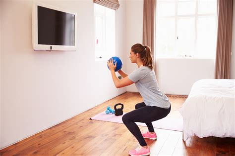 7 ways to make room for working out at home the