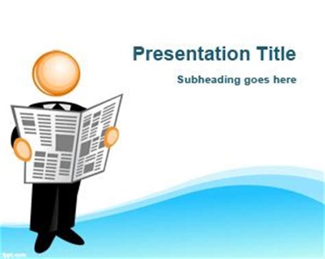 powerpoint themes journalism free united states bald eagle powerpoint template