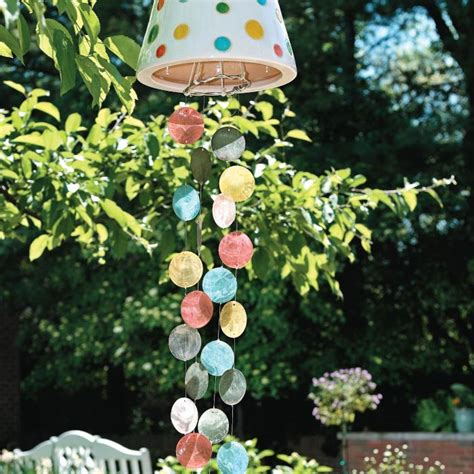 How To Make Handmade Wind Chimes - create your own colorful wind chimes my home my style