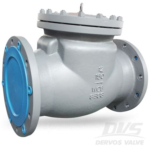 pneumatic swing cl bs1868 swing check valve cl150 12 inch rf wcb dervos