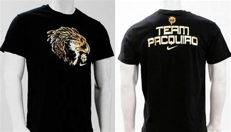 T Shirt Team Pacquiro nike manny pacquiao special edition t shirts