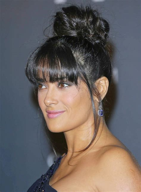 Updo Hairstyles With Bangs by Up Hairstyles With Bangs