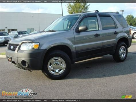 ford escape grey 2007 ford escape xls tungsten grey metallic gray photo