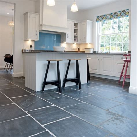 Slate Kitchen Floor Slate Flooring Kitchen Flooring Ideas Housetohome Co Uk