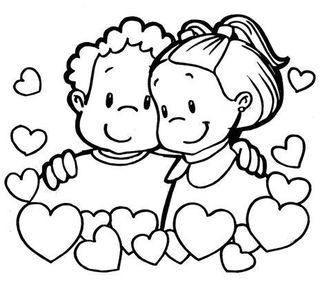 Imagenes Amor Y Amistad Para Colorear | imagenes del dia del amor y la amistad para colorear