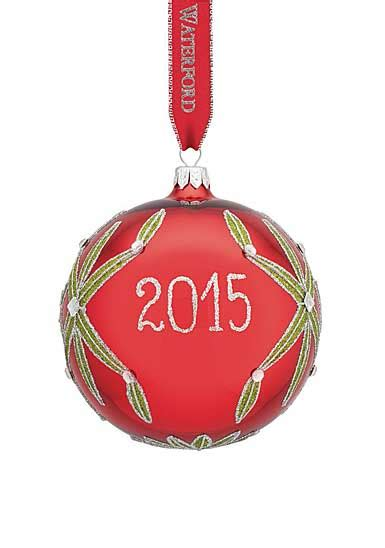 waterford holiday heirlooms nostalgic collection waterford heirloom nostalgic collection lismore 2015 dated ornament