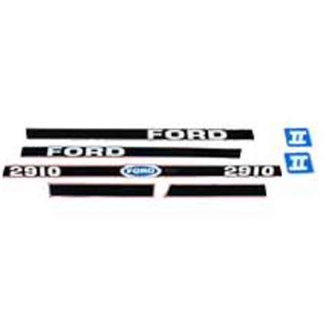 Ford Aufkleber Motorhaube by Schlepper Teile 187 Shop Aufklebersatz Motorhaube Ford