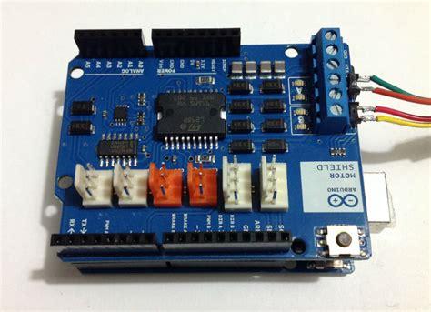 tutorial arduino motor shield motor shield r3 arduino motore passo passo mauro alfieri