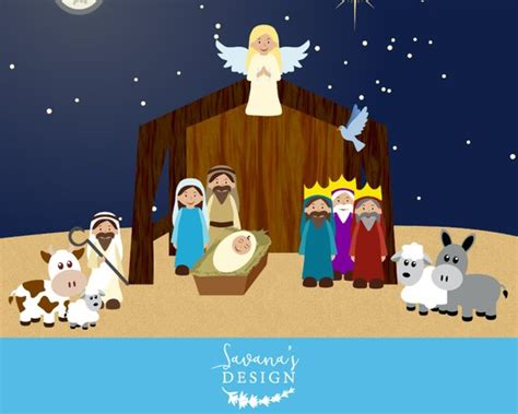 presepe clipart nativity clipart nativity clip nativity