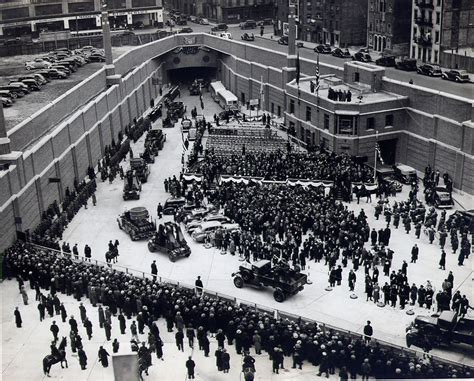 how is the lincoln tunnel 80 years ago today the lincoln tunnel opened to traffic
