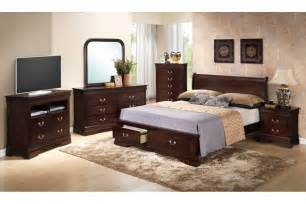 King Size Bedroom Set Bedroom Sets Dawson Cappuccino King Size Storage