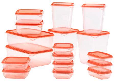 Ikea Pruta 17 Set In One Wadah Penyimpanan Transparan Orange jual ikea pruta container tempat penyimpanan green 17