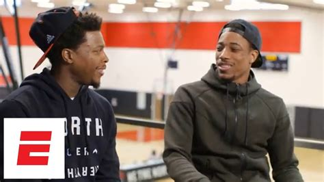 rachel nichols interview kyle lowry full demar derozan and kyle lowry exclusive interview