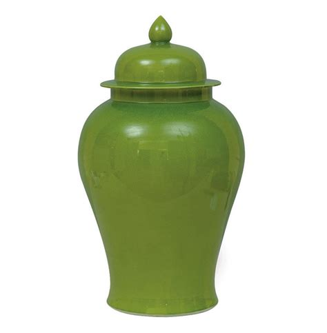 what are ginger jars green apple modern asian temple lidded ginger jar kathy