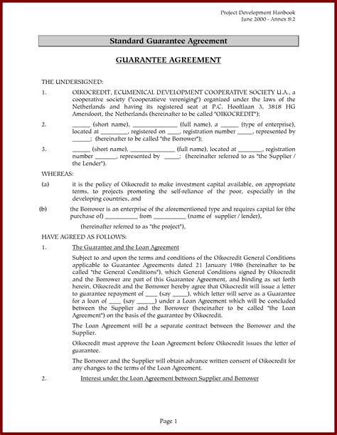 Agreement Letter Model 15 personal loan agreement sle sendletters cover