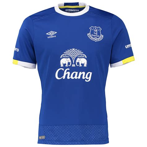 Shirts C 14 16 17 by Everton 16 17 Umbro Home Kit 16 17 Kits Football Shirt