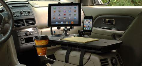 mobile desk for car auto tech necessary or needy techandburgers