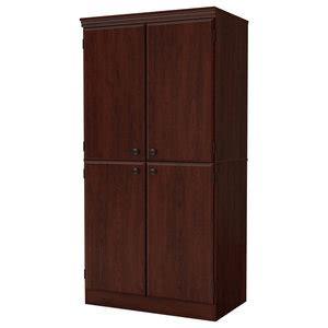 south shore morgan storage cabinet transitional