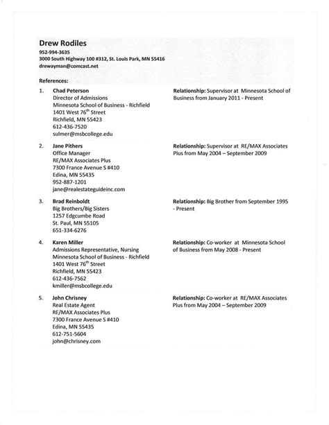resume references format new cover letter second page format copy