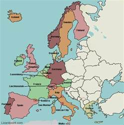 Map Of West Europe by Test Your Geography Knowledge Western European Countries