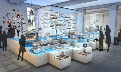 scheepvaartmuseum shop four new galleries for the national maritime museum