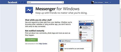 fb download for pc how to download facebook messenger for windows