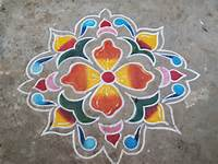 Freehand Rangoli Designs For Diwali 2013  Best