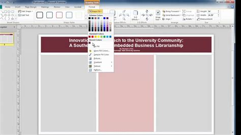 templates for posters in publisher microsoft publisher conference poster sessions youtube