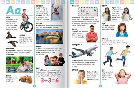 bid dictionary my picture dictionary reference children hinkler