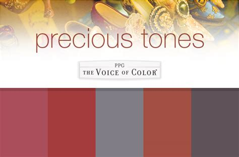 precious tones paint color collection ppgvoiceofcolor