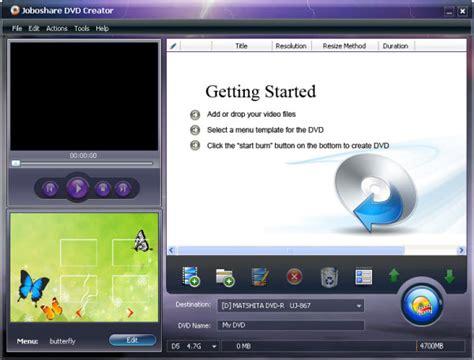 best dvd menu creator dvd creator convert and burn to dvd edit dvd menu