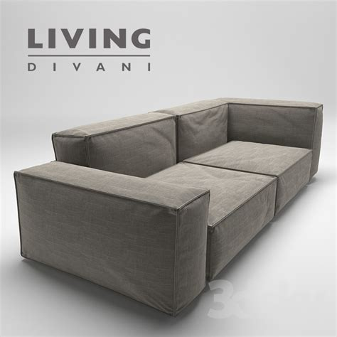 living divani wall 3d models sofa neowall sofa living divani