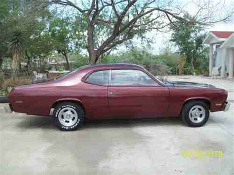 1976 plymouth duster for sale find used 1976 plymouth duster sport coupe factory 4 speed