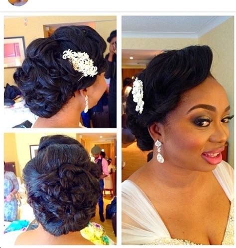 zubby bridal hairdo in lagos nigeria 2014 bridal hairstyles we love helen events blog