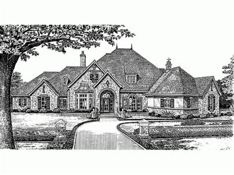 eplans chateau house plan old world grace 5235 square 1000 images about house elevations on pinterest french country house plans craftsman and