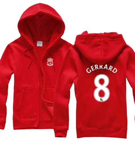 Jaket Hoodie Liverpool 6 liverpool football club steven gerrard hoodie sweater what liverpool football