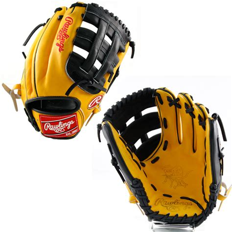 Handmade Baseball Glove - rawlings of the hide custom baseball glove 11 50