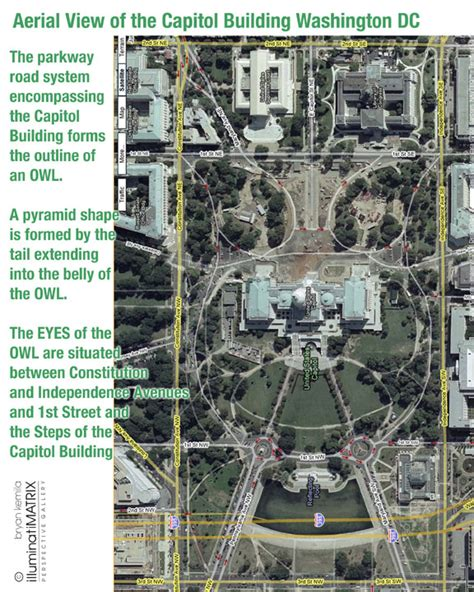 washington dc map owl 27 it s right on the money world trade centre attack magic sigils the name of god