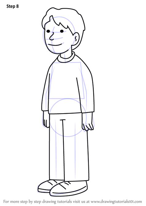 Learn How To Draw Chip Robinson From The Magic Key The Kipper The Coloring Pages