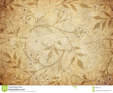 grunge wallpaper with floral pattern stock illustration image 24002613