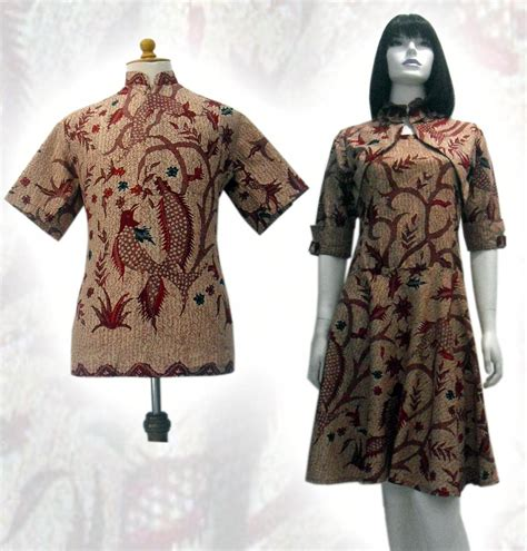model batik sutra trendy model batik modern 2013 hairstylegalleries com